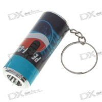 Фонарь Led Cola Bottle Keychains - Color & Style Assorted (3*AG3)