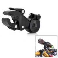Универсальное крепление на велосипед Universal Plastic Cycling Bicycle Flashlight Torch Mount Holder Clamp