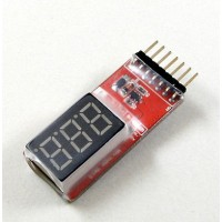 Индикатор батареи HiModel LED 1-6S Lithum Battery Unit Cell Voltage Checker